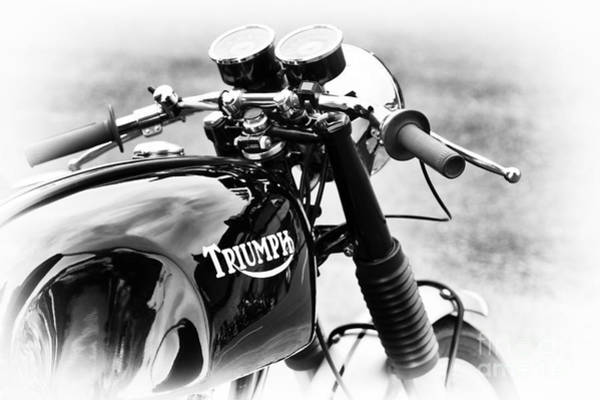 Photograph - Triumph Cafe Racer by Tim Gainey