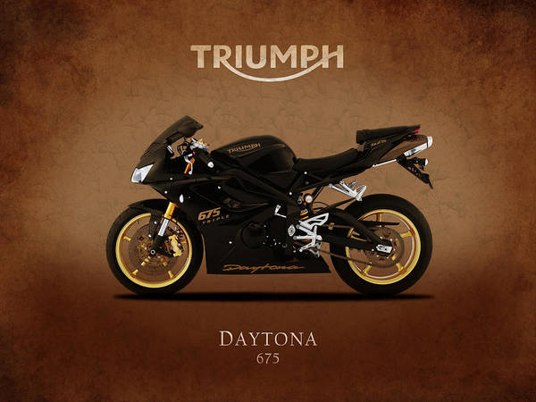 Wall Art - Photograph - Triumph Daytona 675 by Mark Rogan