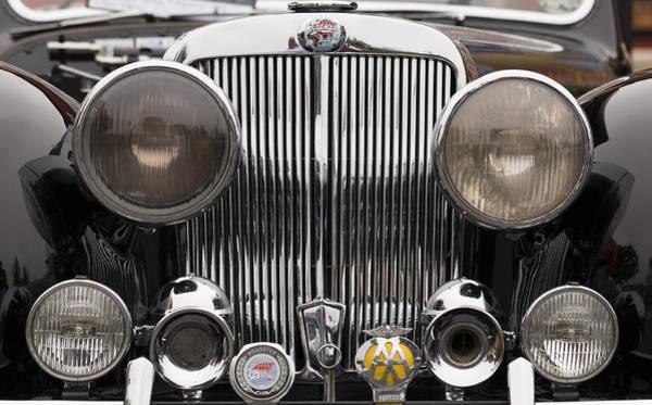Photograph - Triumph Roadster Front End Color by Scott Campbell