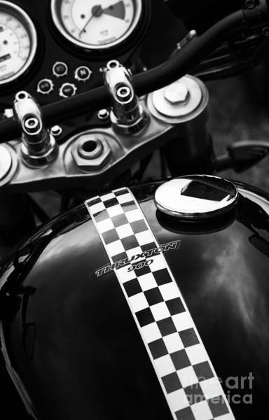Photograph - Thruxton by Tim Gainey