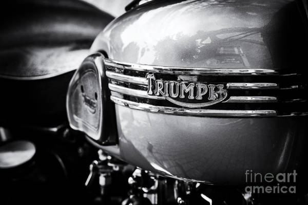 Photograph - Triumph Tiger T110 Motorcycle by Tim Gainey