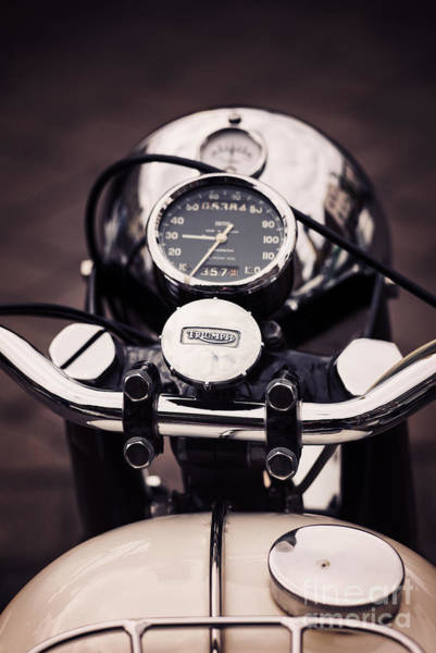 Photograph - Triumph Tiger 90 by Tim Gainey