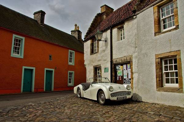 Photograph - Triumph Tr3 by Stephen Taylor