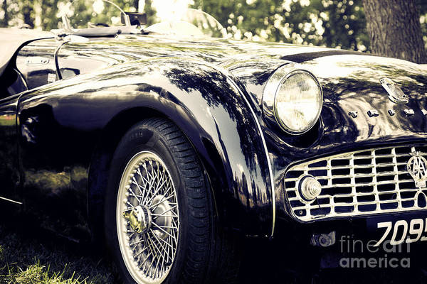 Photograph - Triumph Tr3a by RicharD Murphy