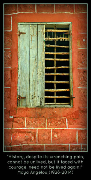 Wall Art - Photograph - Triumphant Courage -- Inspirational Print by Stephen Stookey