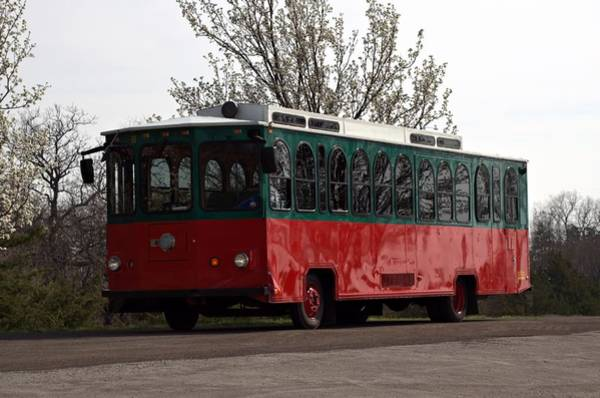 Photograph - Trolley Bus by Tim McCullough