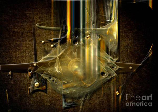 Digital Art - Trombone Machine by Alexa Szlavics
