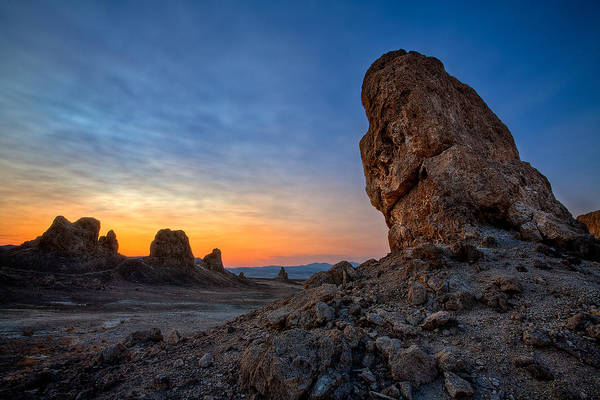 Death Valley National Park Photograph - Trona Pinnacles by Peter Tellone
