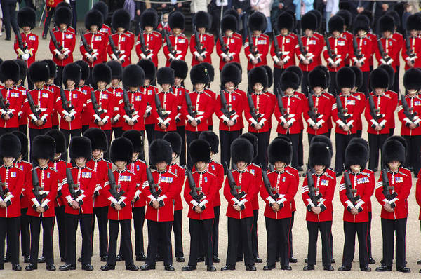 Queens Birthday Photograph - Trooping The Colors by Christian Heeb