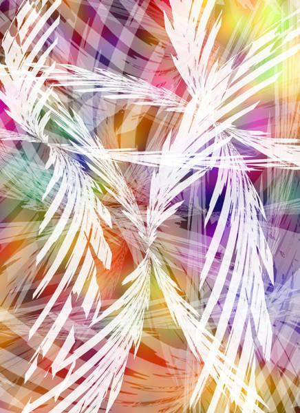 Palm Frond Digital Art - Tropic Breeze by Ginny Schmidt