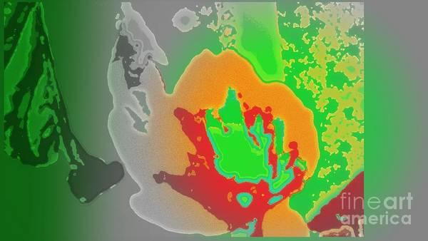 Wiese Digital Art - Tropic Burst by Wendy Wiese