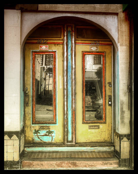 Mail Slot Photograph - Tropic Head Trip by Kandy Hurley