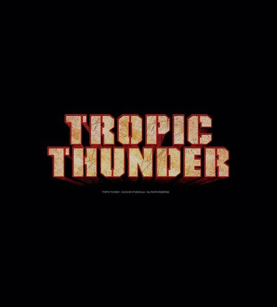 Tropics Digital Art - Tropic Thunder - Title by Brand A
