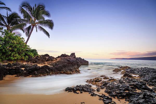 Rural Scene Photograph - Tropical Beach, Makena Cove, Maui by Darekm101