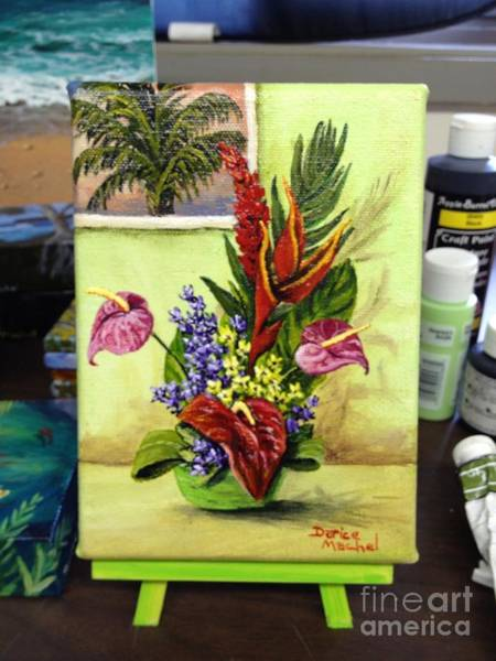 Painting - Tropical Bouquet by Darice Machel McGuire