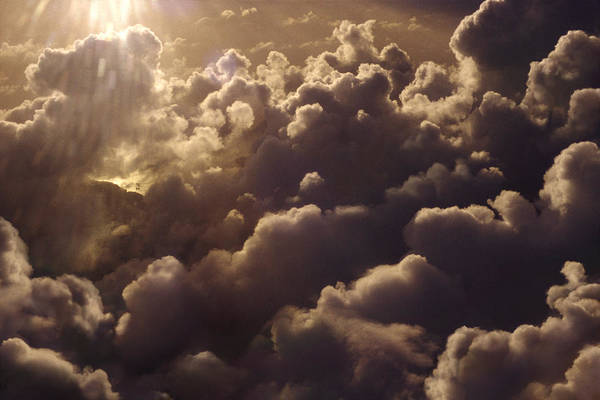 Umwelt Photograph - Tropical Cumulus Clouds Over Polynesia by Per-Andre Hoffmann