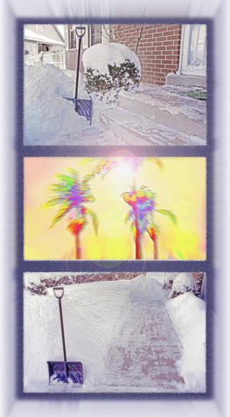 Fun Wall Art - Photograph - Tropical Dreaming Triptych by Steve Ohlsen