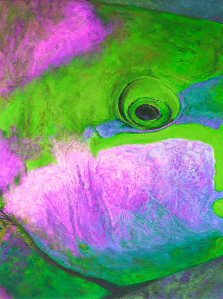 Belize Digital Art - Tropical Fishtych 04 B-center by Julie Turner