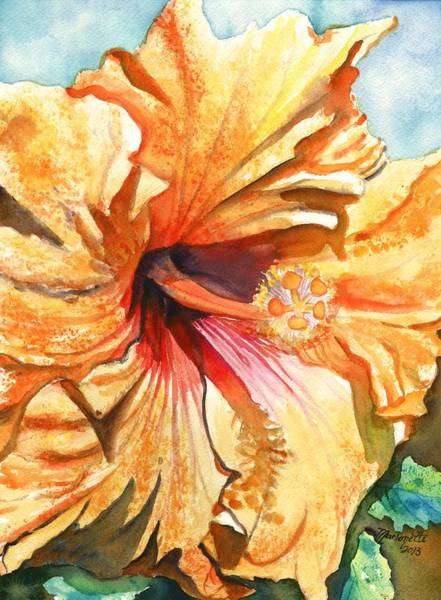 Tropical Hibiscus 3 Art Print