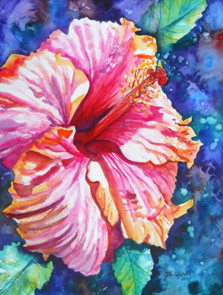 Tropical Hibiscus 4 Art Print