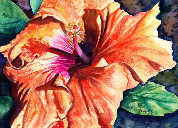 Tropical Hibiscus Art Print