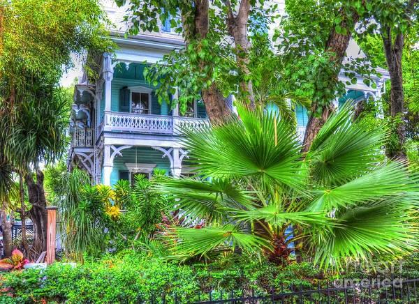 Wall Art - Photograph - Tropical House by Debbi Granruth