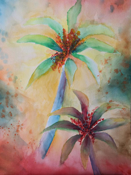 Painting - Tropical Image by Karin Eisermann