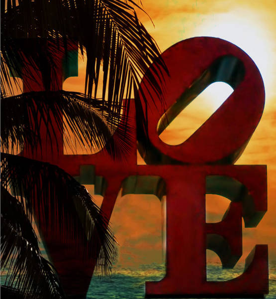 Photograph - Tropical Love by Bill Cannon