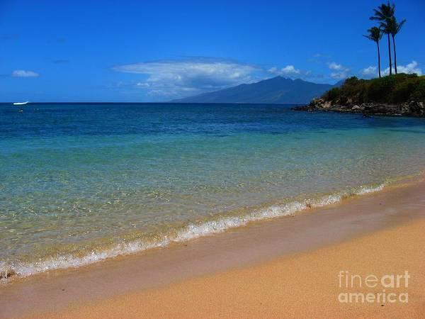 Napili Bay Photograph - Tropical Paridise by Christine Stack