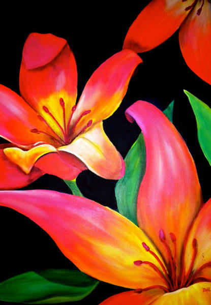 Wall Art - Painting - Tropical Punch by Debi Starr
