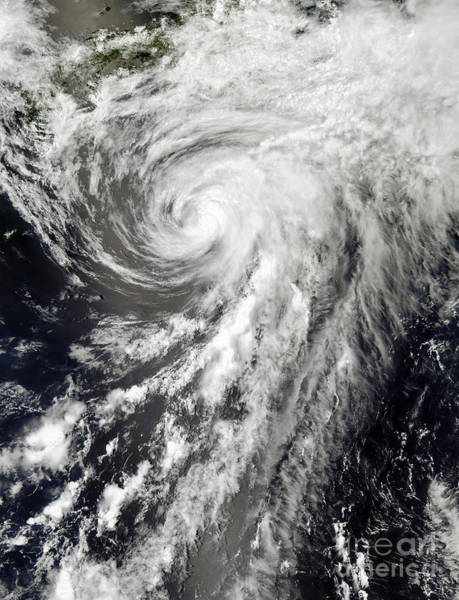 Photograph - Tropical Storm Yagi by Science Source