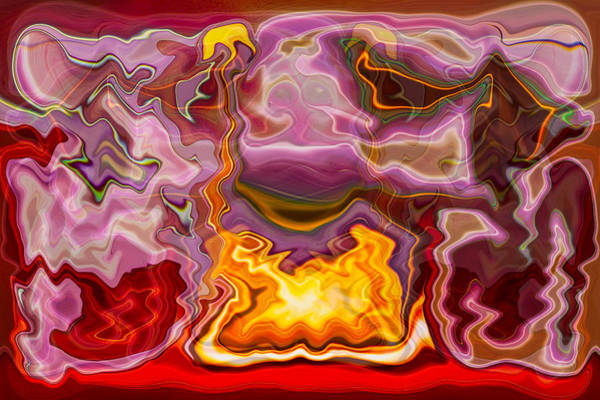 Painting - Tropicana by Omaste Witkowski