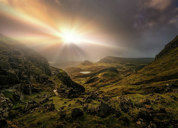 Wall Art - Photograph - Trotternish Ridge Light #3 by Matt Anderson