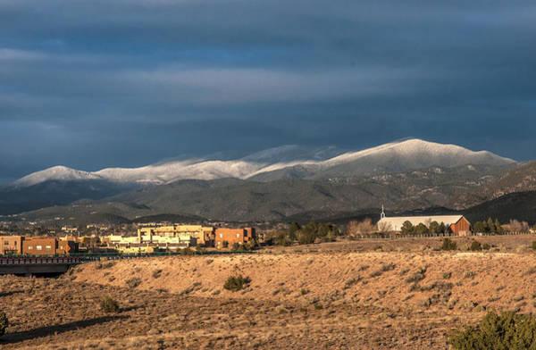 Photograph - Truchas Peak by Lou  Novick