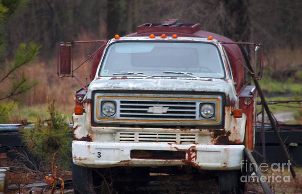 Wall Art - Photograph - Truck by Affini Woodley