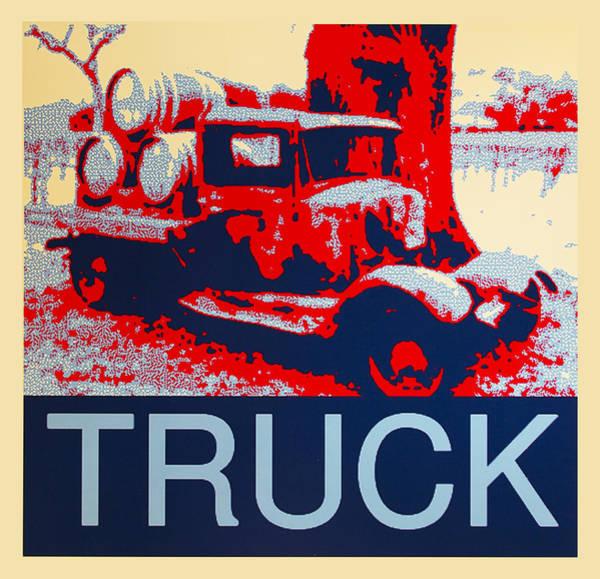 Digital Art - Truck by Barbara Snyder