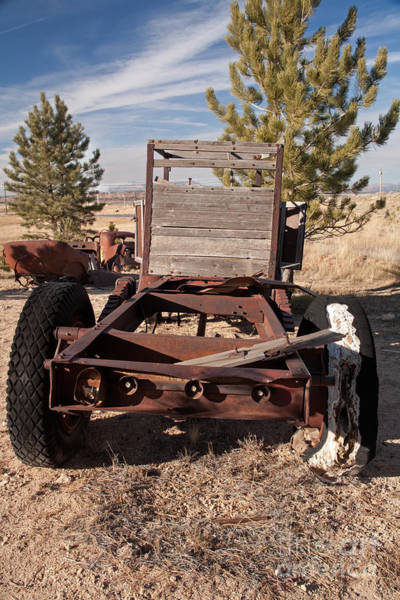 Photograph - Truck Bed by Fred Stearns