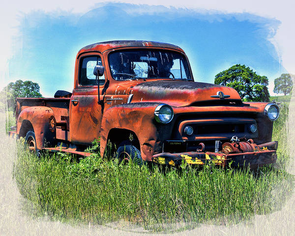 Photograph - Truck In The Grass by William Havle