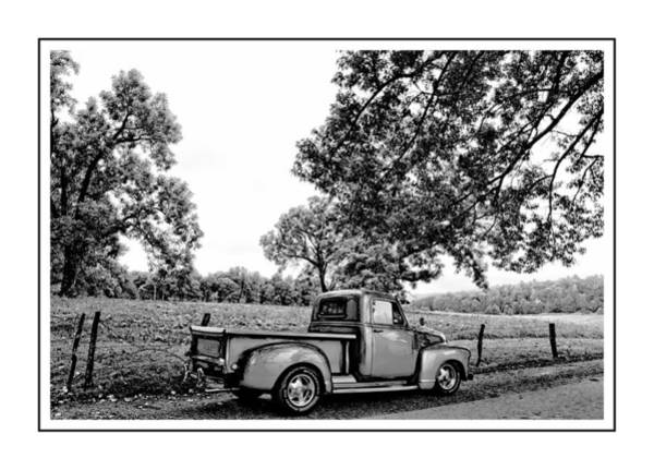 Wall Art - Photograph - Truck In The Valley by Alice Gipson