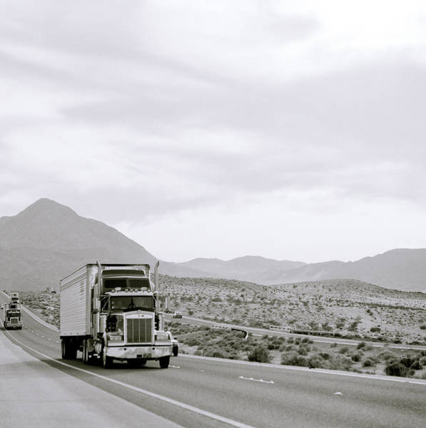 Photograph - Trucking Across America by Shaun Higson