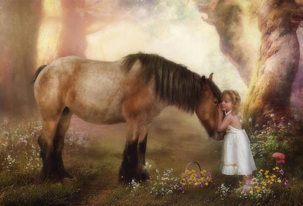 Horse Love Photograph - True Love by Cindy Grundsten