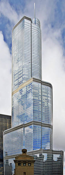 Photograph - Trump Tower Chicago - A Surplus Of Superlatives by Christine Till