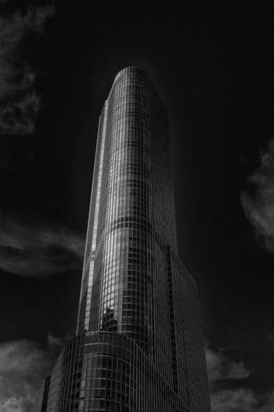Chicago Bulls Photograph - Trump Tower Chicago by David Haskett II