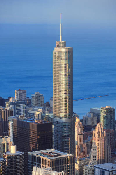 Photograph - Trump Tower Chicago by Songquan Deng