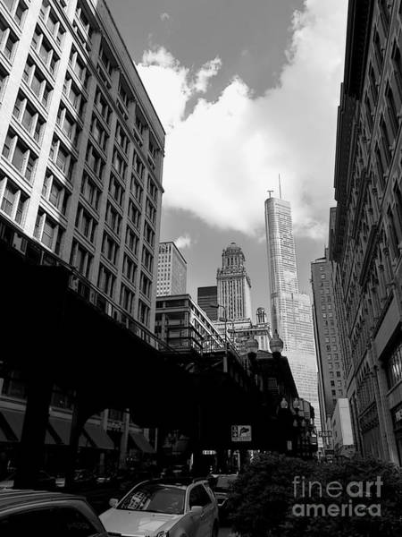 Wabash Avenue Wall Art - Photograph - Trump Tower by David Bearden