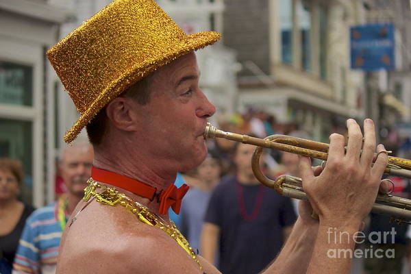 Photograph - Trumpet Man by Amazing Jules