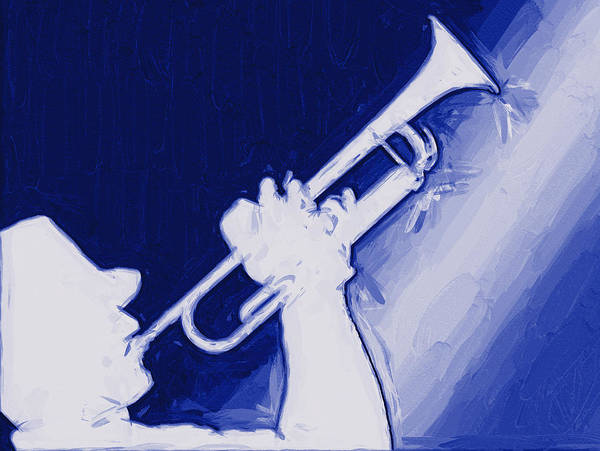 Photograph - Trumpet Player by Carlos Diaz