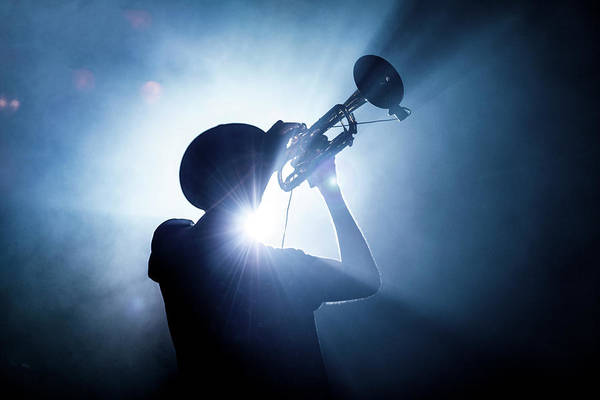 Wall Art - Photograph - Trumpet Player by Erik De Klerck