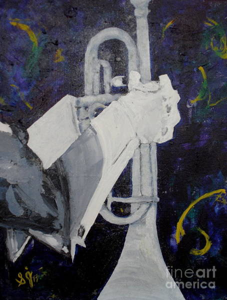 Painting - Trumpet by Shelley Jones