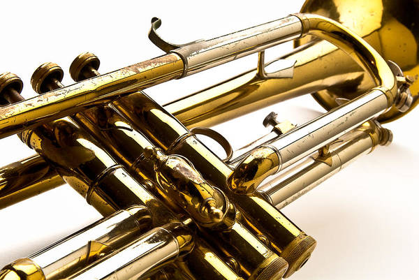 Photograph - Trumpet Valves by  Onyonet  Photo Studios
